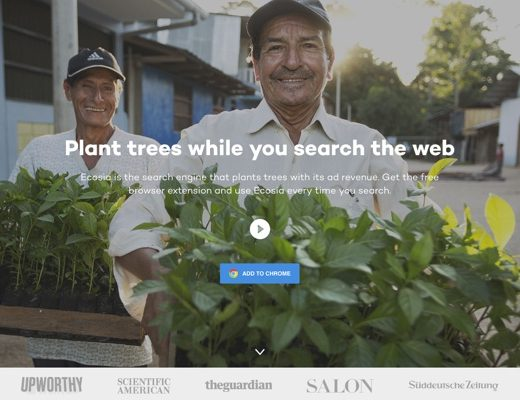 plant tree while search the web