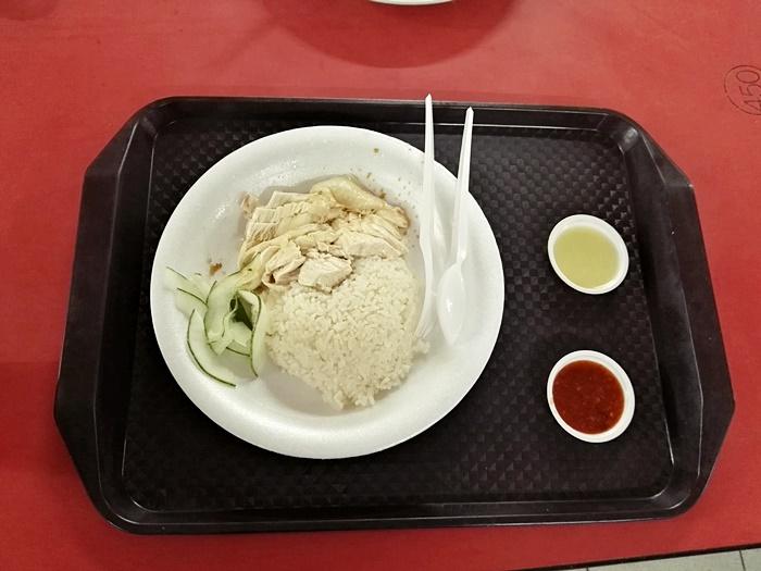 ข้าวมันไก่-สิงคโปร์