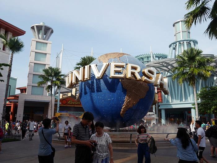 เจ้าลูกโลกหมุน Universal Singapore