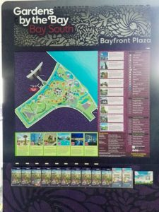 garden by the bay map