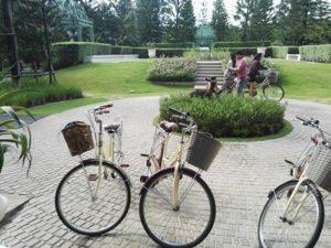 กิจกรรมปั่นจักรยานก็มี